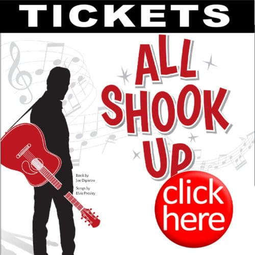 """OUR SUMMER MUSICAL FUNDRAISER """"ALL SHOOK UP"""" @  CENTER STAGE THEATRE 
